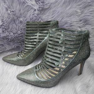 INC International Concepts studded cage heels sz 9